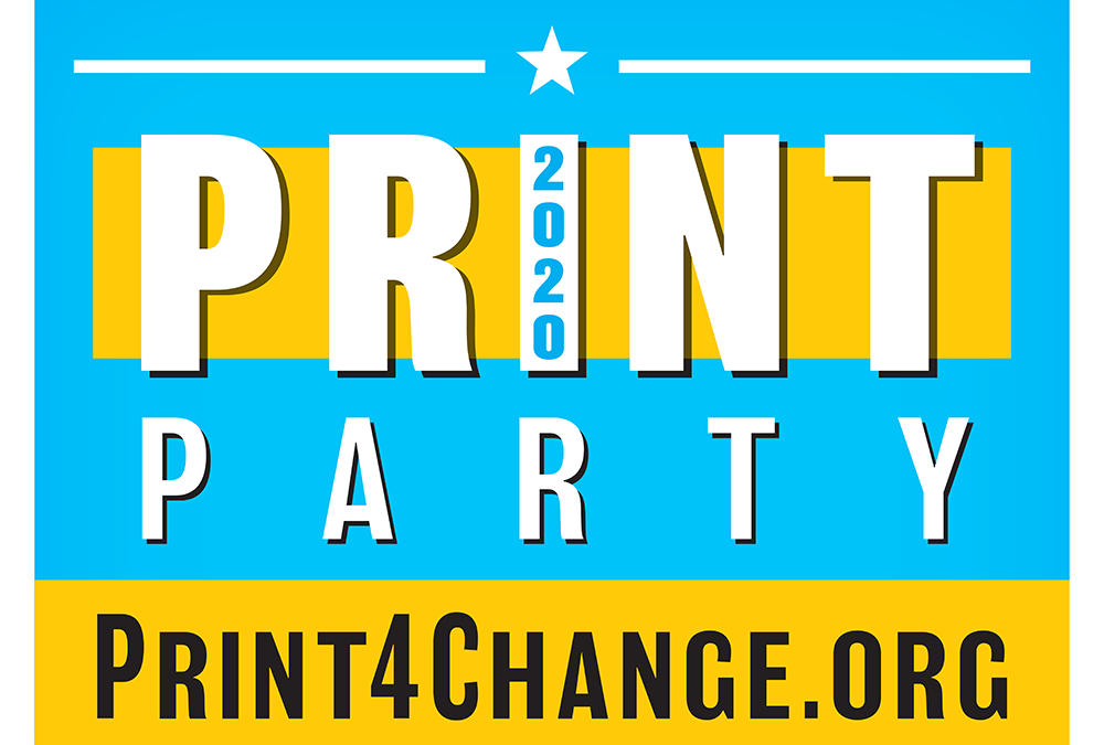 The Print Party Experiment